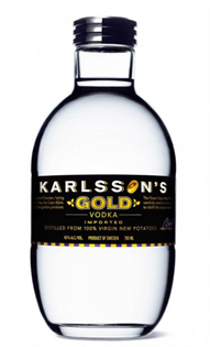 Karlsson's Vodka Gold 750ml